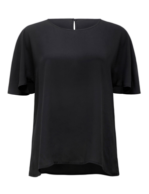 Picture of NNT Uniforms-CATU2S - BLA-Women's Cape Blouse
