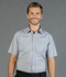 Picture of Gloweave-1267S-MEN'S PUPPY TOOTH SHORT SLEEVE SHIRT-WINDSOR