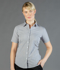Picture of Gloweave-1267WS-WOMEN'S PUPPY TOOTH SHORT SLEEVE SHIRT-WINDSOR