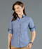 Picture of Gloweave-1713WHL-WOMEN'S CHAMBRAY DOBBY SHIRT - HARDWARE