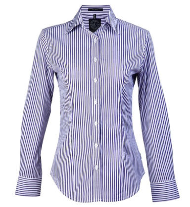 Picture of Ritemate Workwear-RMPC013-Ladies L/S Shirt