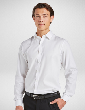 Picture of Corporate Reflection-3091L33-Serenity Mens Semi Fit Long Sleeve shirt