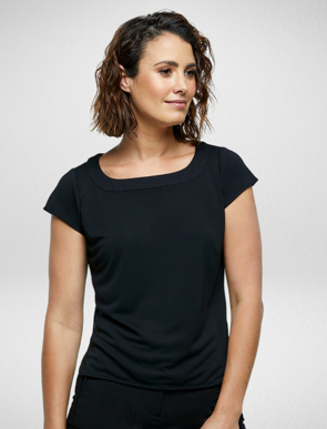 Picture of Corporate Reflection-6053C89-Caprice Ladies Semi Fit, Cap Sleeve blouse