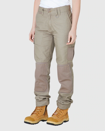 Picture of ELWD Workwear-EWD501-WOMENS UTILITY PANT