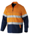 Picture of King Gee-K55905-Reflective Spliced Cotton Drill Jacket