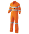 Picture of King Gee-K51305-Hi-Vis Summerweight Drill Reflective Combination Overall