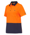 Picture of King Gee-K44735-Workcool Hyperfreeze Spliced Polo S/S Womens