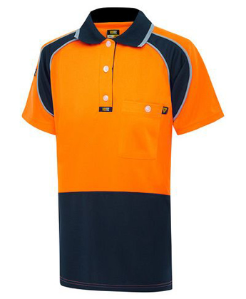 Picture of Visitec-V1003-Short Sleeve  Microfibre Energy Polo - Women's