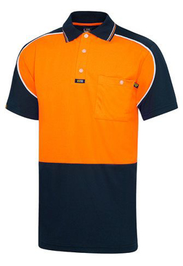 Picture of Visitec-AVPMS-Short Sleeve Microfibre Aero Polo