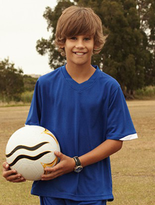 Picture of Bocini-CT0693-Kids Breezeway Football Jersey