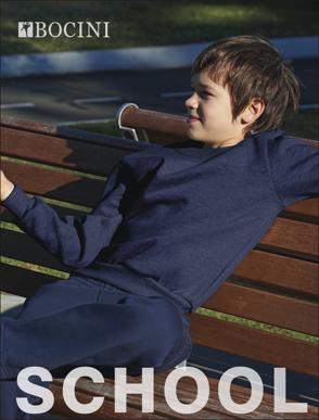 Picture of Bocini-CJ1320-Kids Crew Neck Fleece