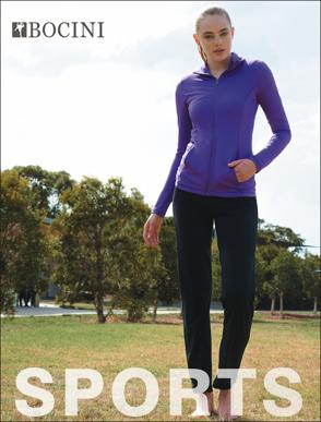 Picture of Bocini-CK1414-Ladies Yoga Tights