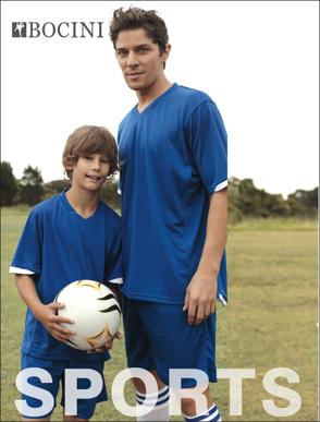 Picture of Bocini-CK630-Kids Breezeway Football Shorts