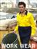 Picture of Bocini-SS1013-Unisex Adults Hi-Vis Cotton Twill Shirt L/S