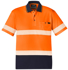 Picture of Syzmik-ZH535-Unisex Hi Vis Segmented S/S Polo - Hoop Taped