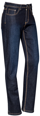 Picture of Syzmik-ZP707-Womens Stretch Denim Work Jeans