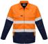 Picture of Syzmik-ZJ590-Mens Hi Vis Cotton Drill Jacket