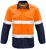 Picture of Syzmik-ZW132-Mens FR Hoop Taped Spliced Shirt