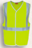 Picture of Bocini-SJ0323-Unisex Adults Hi-Vis Vest With Crossing Tape