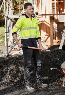 Picture of Syzmik Workwear-ZP320-Mens Streetworx Stretch Pant Non-Cuffed