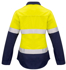 Picture of Syzmik-ZW131-Womens FR Closed Front Hooped Taped Spliced Shirt