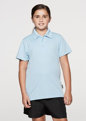 Picture of Aussie Pacific - 3307-Botany Kids Polo Shirts