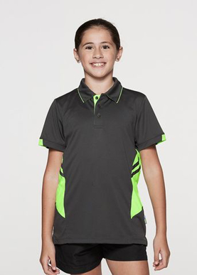 Picture of Aussie Pacific - 3311-Tasman Kids Polo Shirts