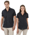 Picture of Identitee-W15(Identitee)-Ladies Short Sleeve Shirt with Contour Panels & Stitch Detail
