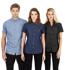 Picture of Identitee-W51(Identitee)-Ladies Short Sleeve Denim Shirt