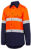 Picture of Hardyakka-Y07940-BASIC SHIRT 2 TONE DRILL VENTED WITH TAPE LONG SLEEVE